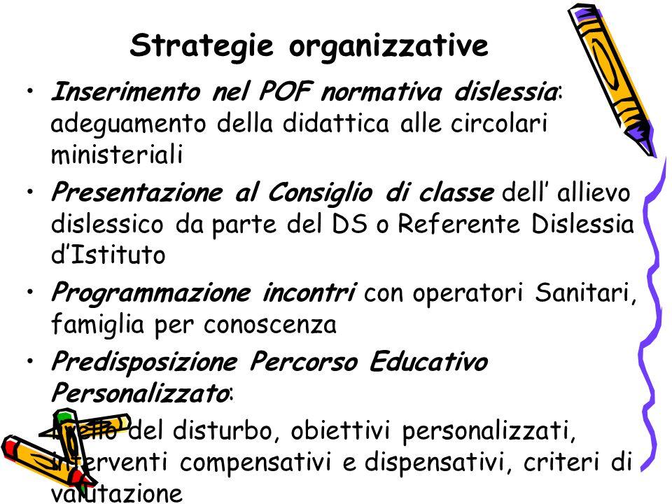 Strategie organizzative
