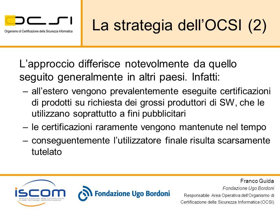 La strategia dell'OCSI (2)