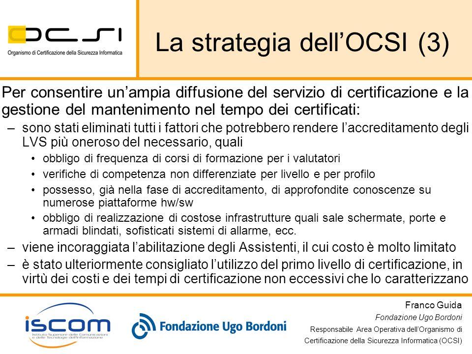 La strategia dell'OCSI (3)