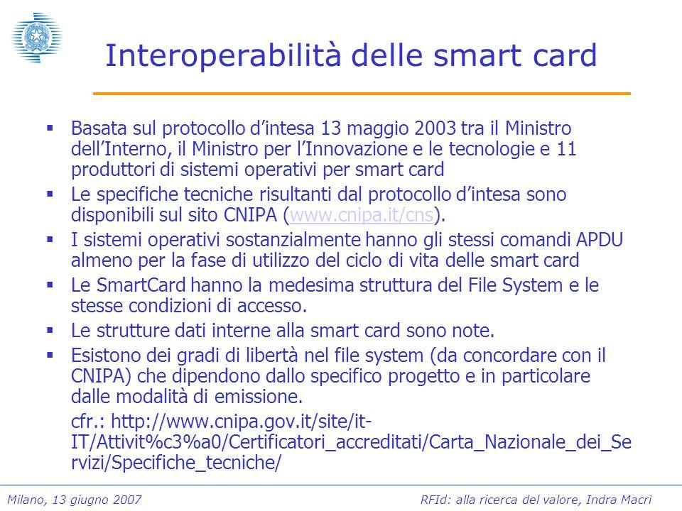 Interoperabilità delle smart card
