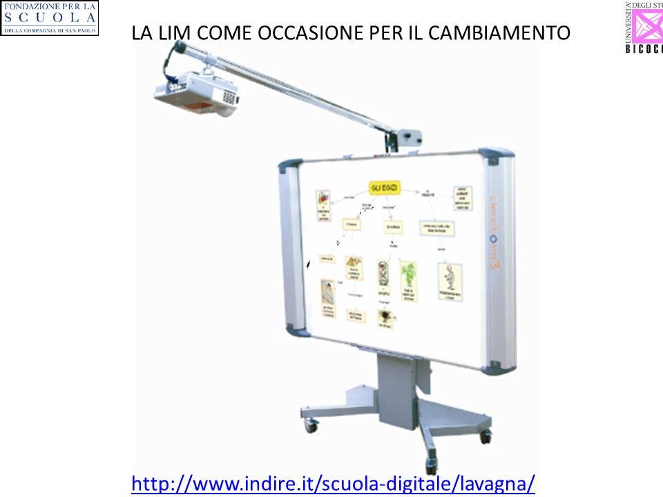…Alla LIM: Lavagna Interattiva Multimediale