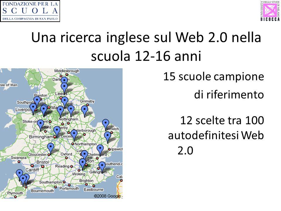 Una ricerca inglese sul Web 2.0 nella scuola 12-16 anni