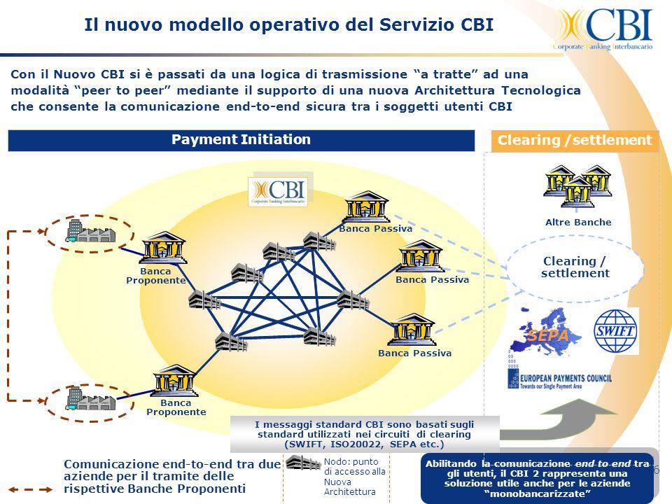 Il nuovo modello operativo del Servizio CBI