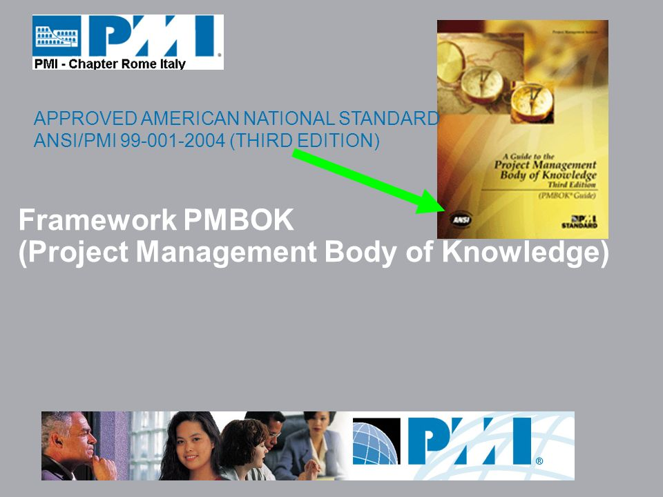 Framework PMBOK (Project Management Body of Knowledge)