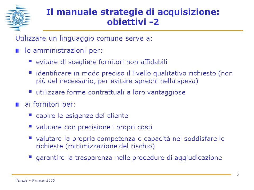 Il manuale strategie di acquisizione: obiettivi -2