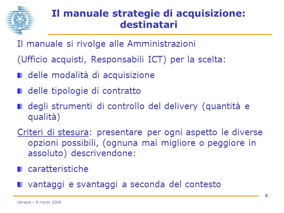 Il manuale strategie di acquisizione: destinatari