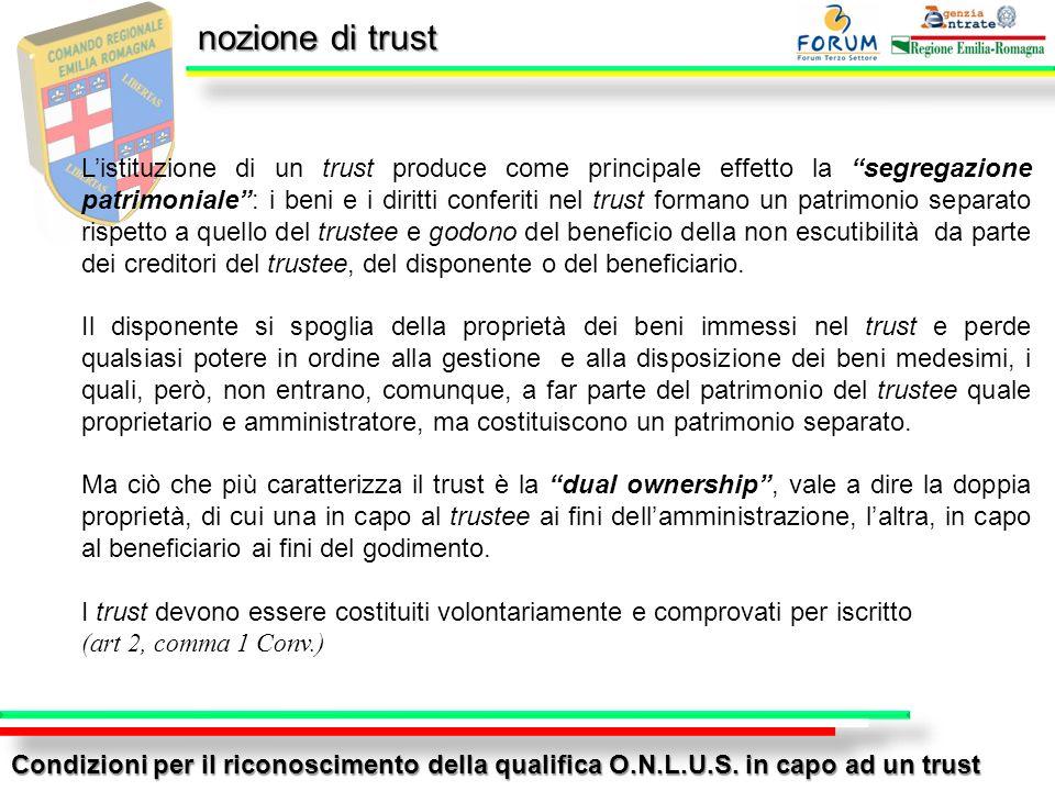 nozione di trust