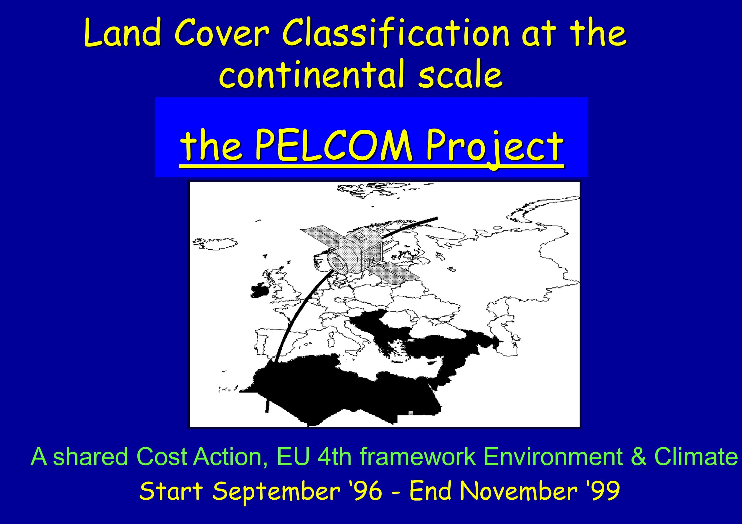 the PELCOM Project Land Cover Classification at the continental scale