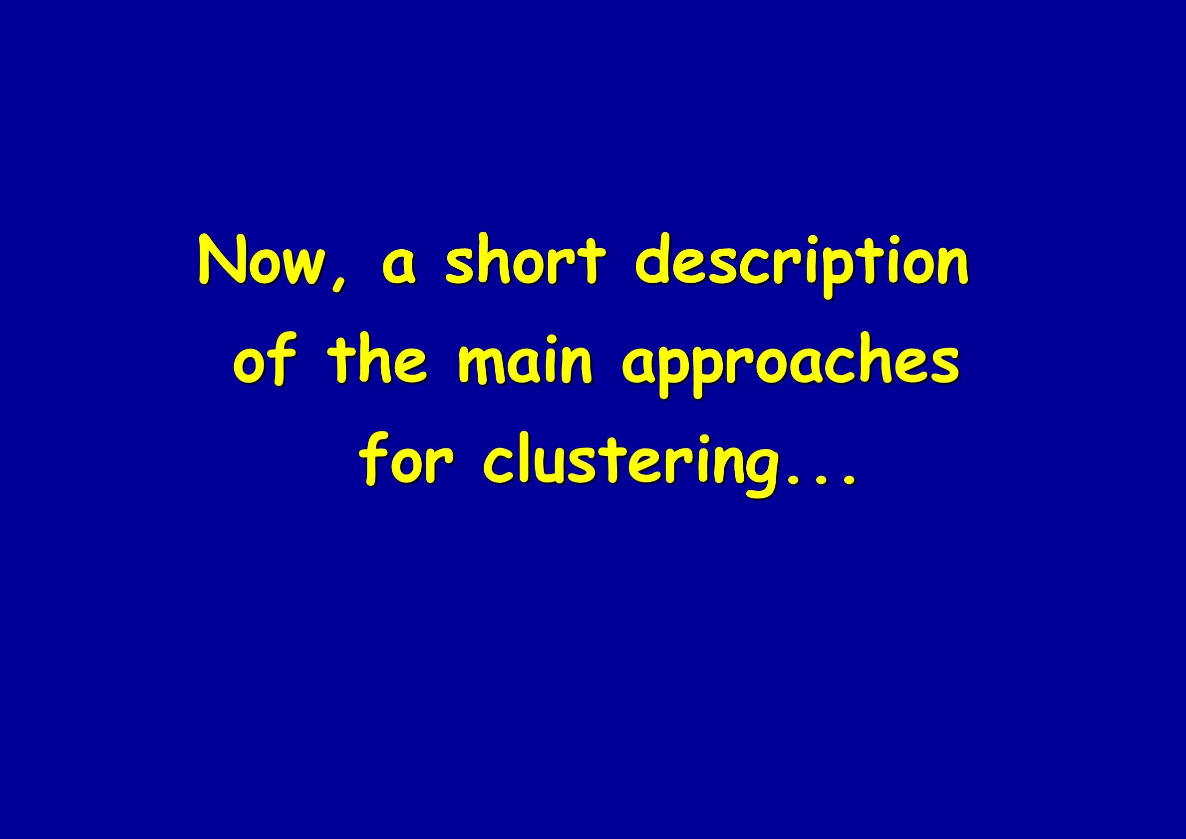 Now, a short description