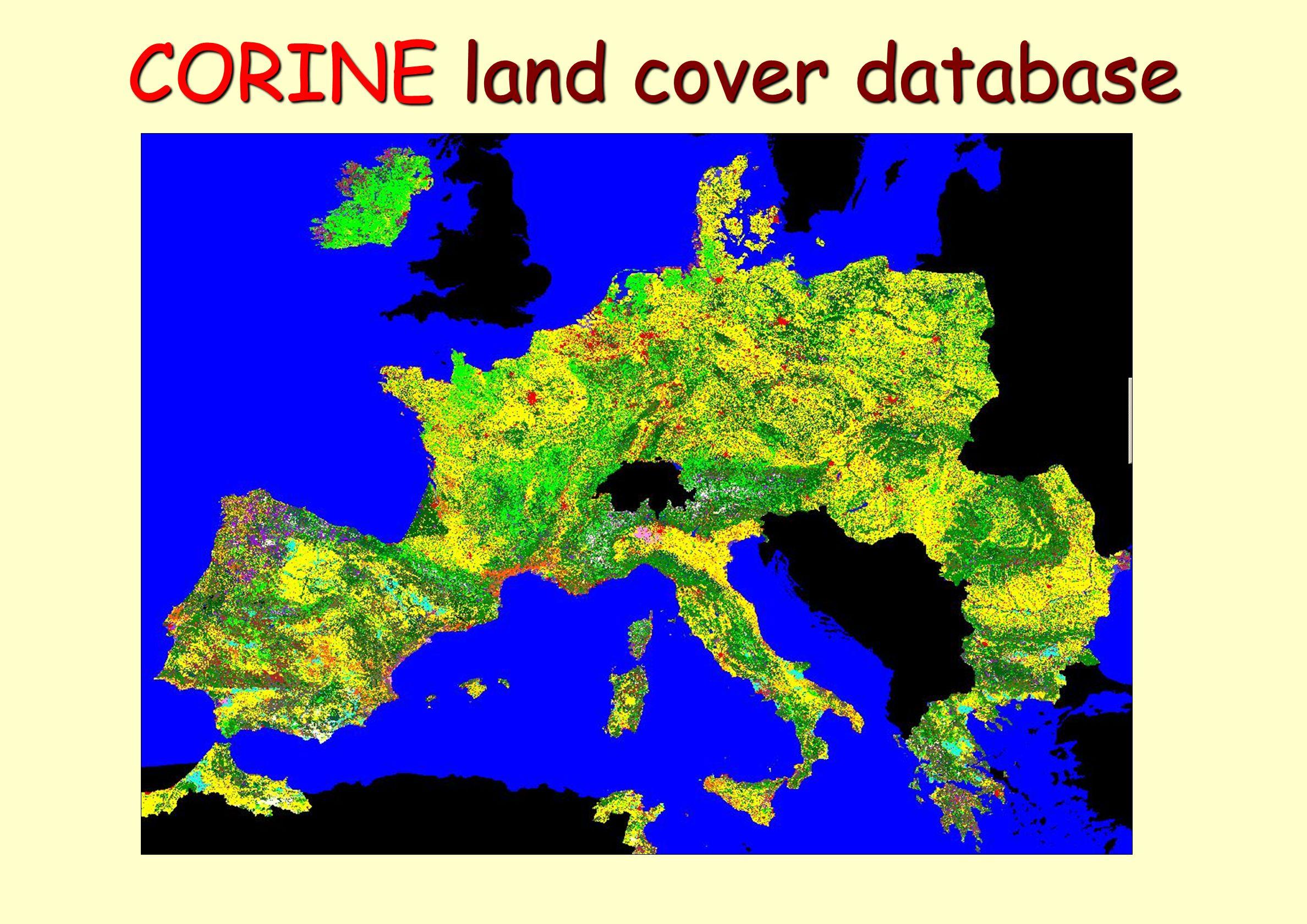 CORINE land cover database