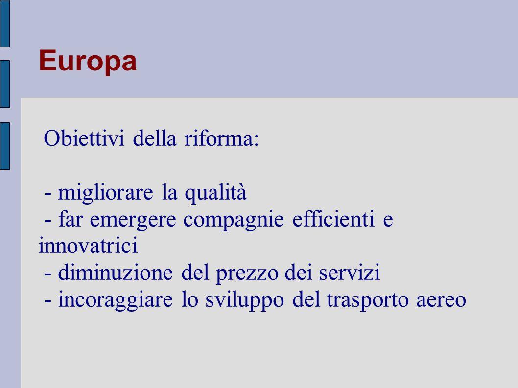 Europa - migliorare la qualità