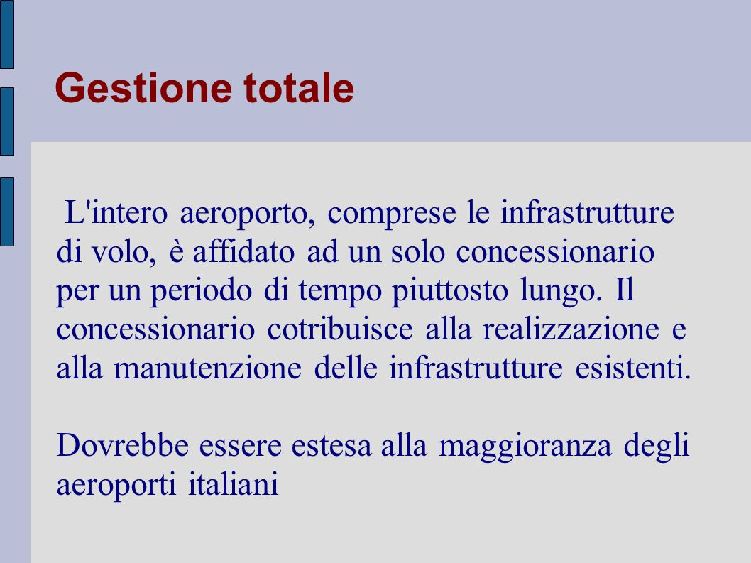 Gestione totale