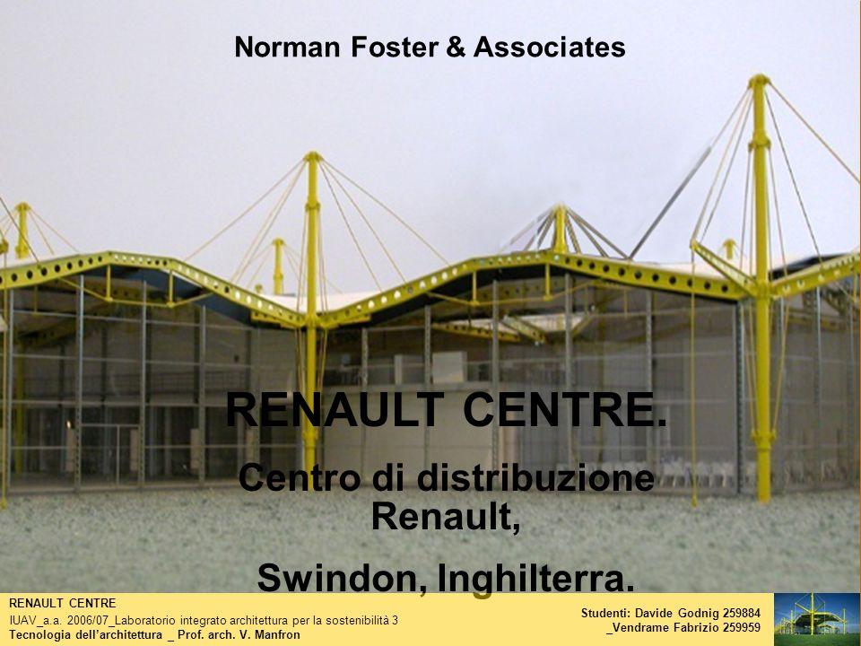 Norman Foster & Associates Centro di distribuzione Renault,