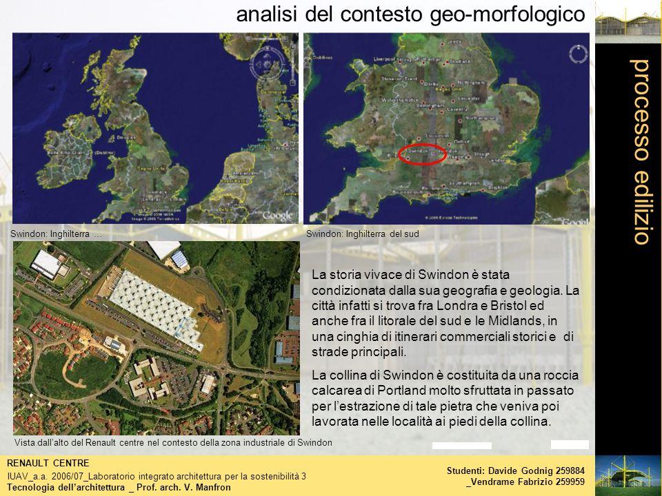 processo edilizio analisi del contesto geo-morfologico