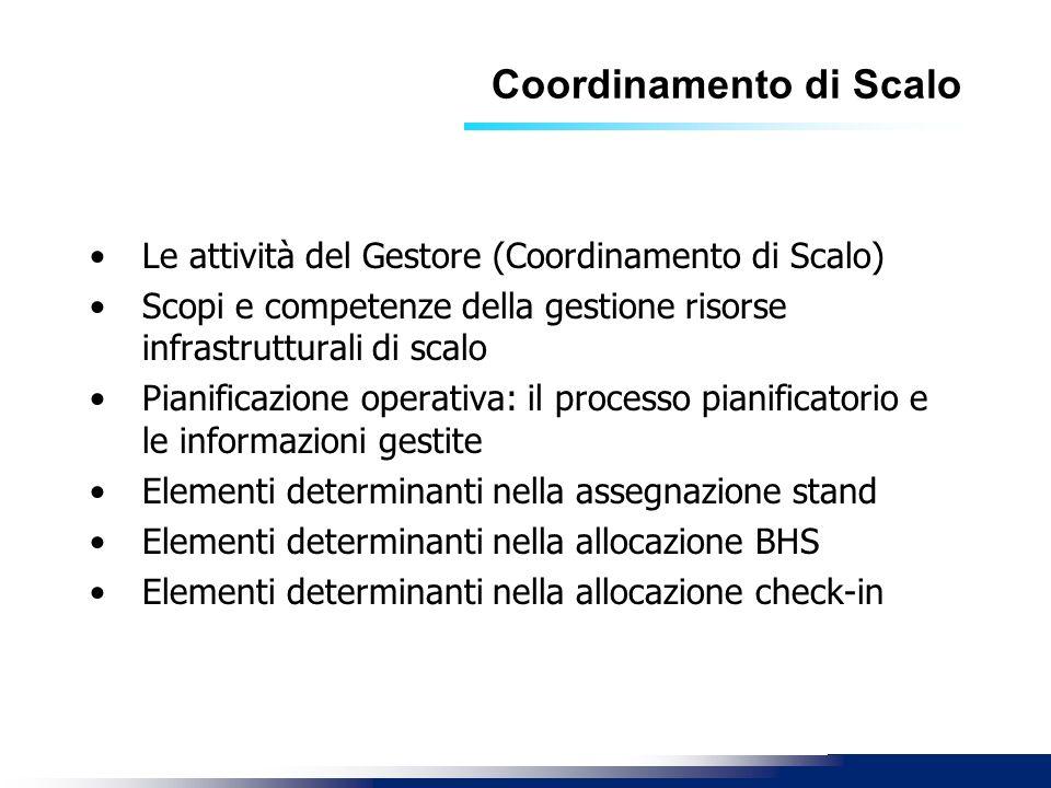 Coordinamento di Scalo