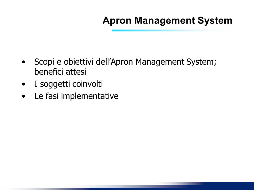 Apron Management System