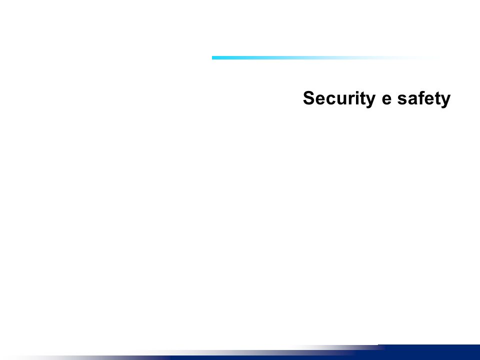 Security e safety