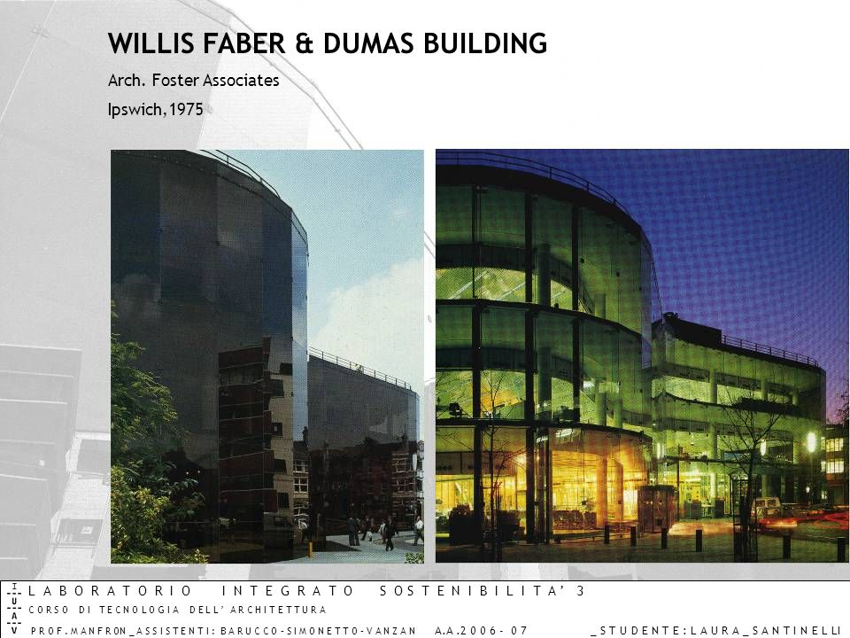 WILLIS FABER & DUMAS BUILDING