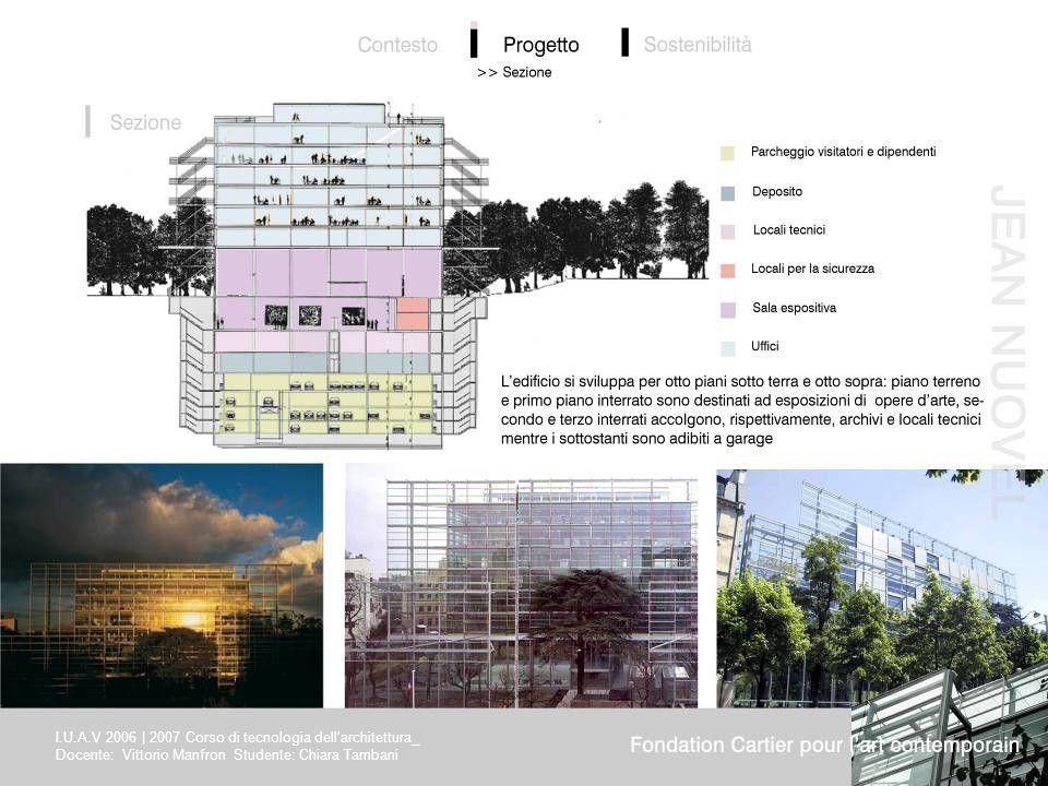 I.U.A.V 2006 | 2007 Corso di tecnologia dell'architettura_