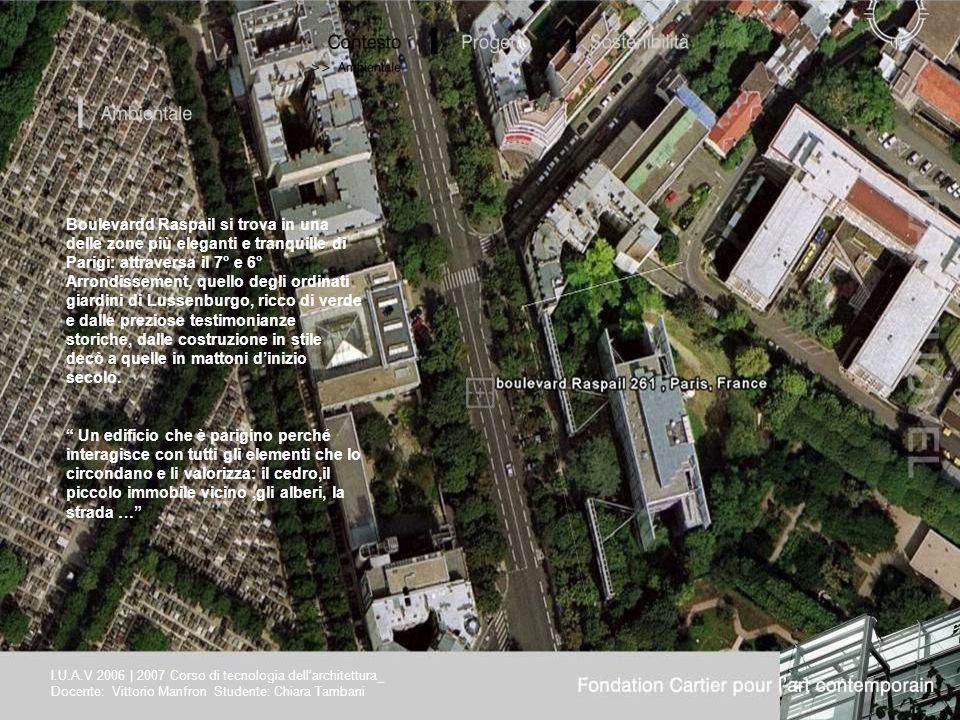 Boulevardd Raspail si trova in una delle zone più eleganti e tranquille di Parigi: attraversa il 7° e 6° Arrondissement, quello degli ordinati giardini di Lussenburgo, ricco di verde e dalle preziose testimonianze storiche, dalle costruzione in stile decò a quelle in mattoni d'inizio secolo.