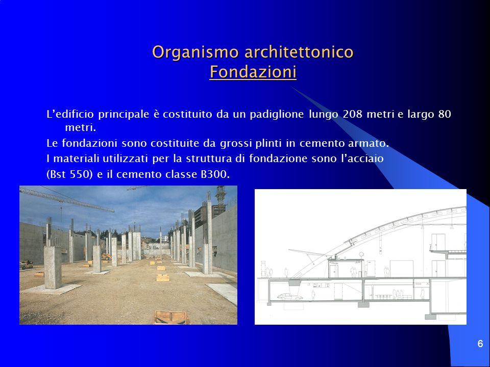 Organismo architettonico Fondazioni