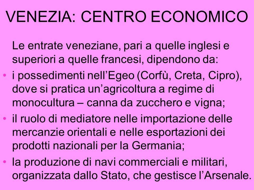 VENEZIA: CENTRO ECONOMICO