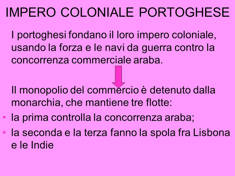 IMPERO COLONIALE PORTOGHESE