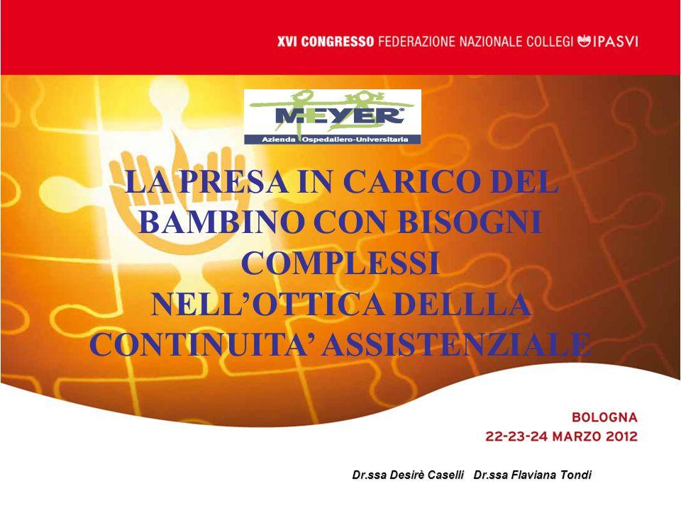 Dr.ssa Desirè Caselli Dr.ssa Flaviana Tondi