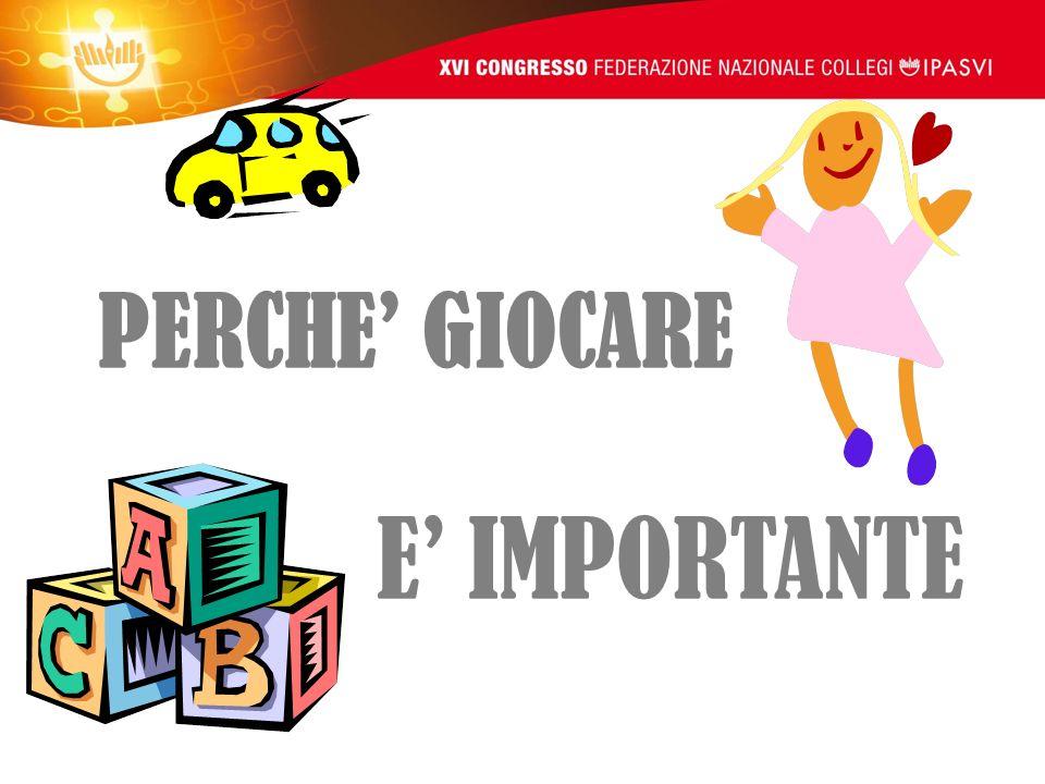 PERCHE' GIOCARE E' IMPORTANTE