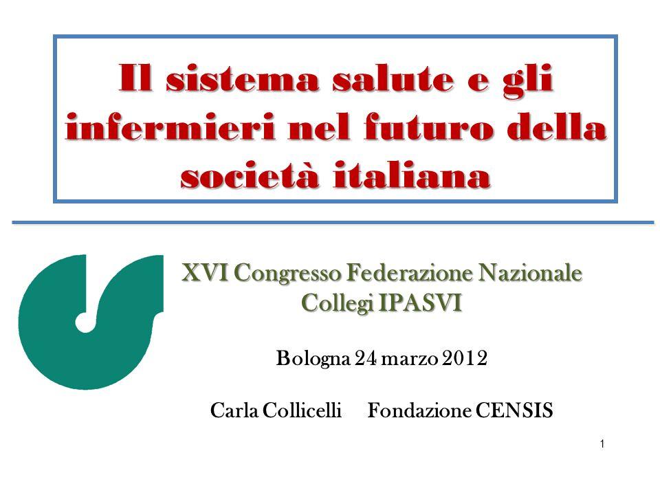 Il sistema salute e gli infermieri nel futuro della società italiana