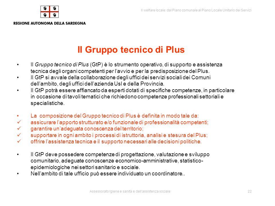 II Gruppo tecnico di Plus