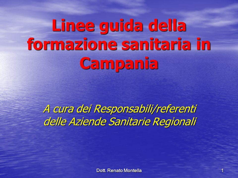 Linee guida della formazione sanitaria in Campania
