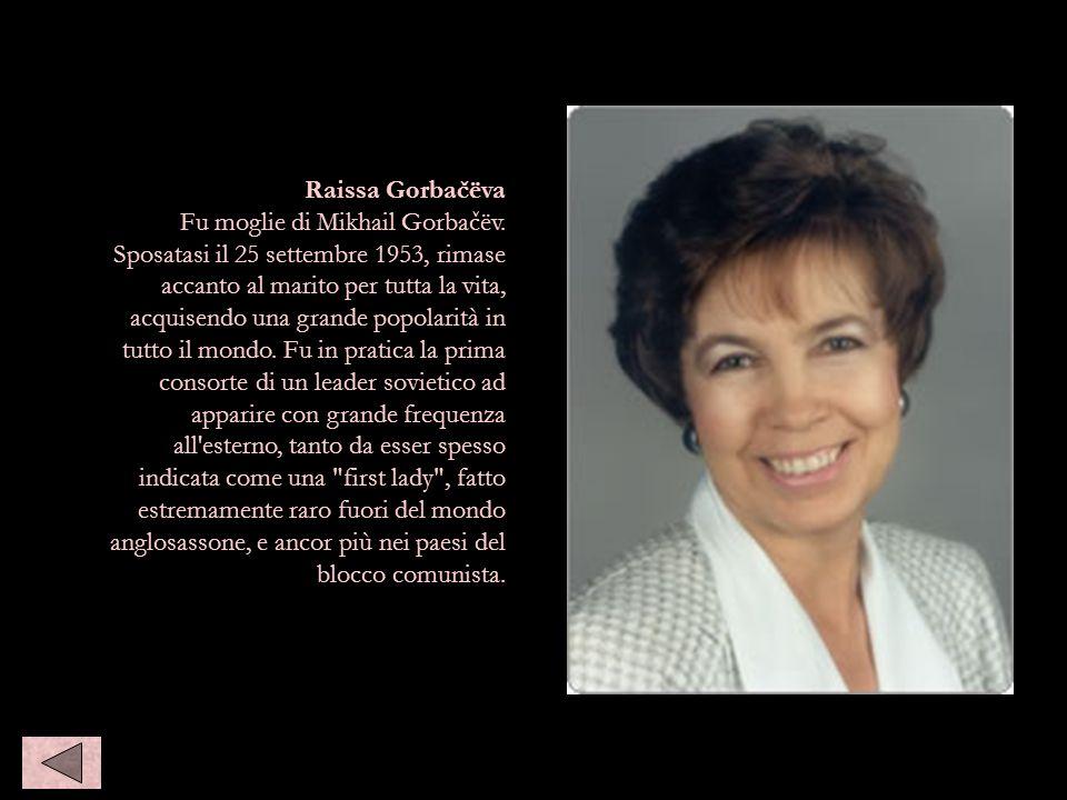 Raisa gorbaceva Raissa Gorbačëva