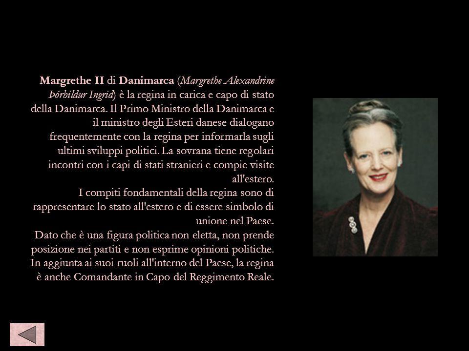 Margrethe II di danimarca