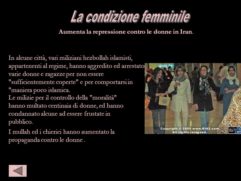 La condizione femminile