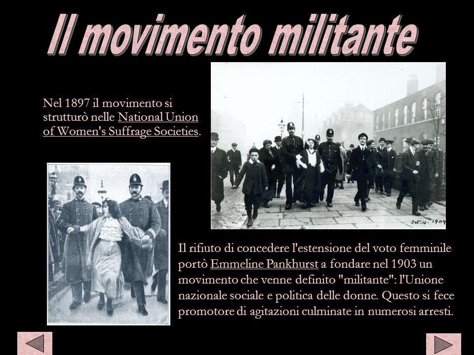 Il movimento militante