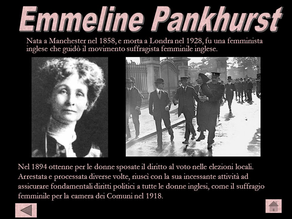 Emmeline Emmeline Pankhurst