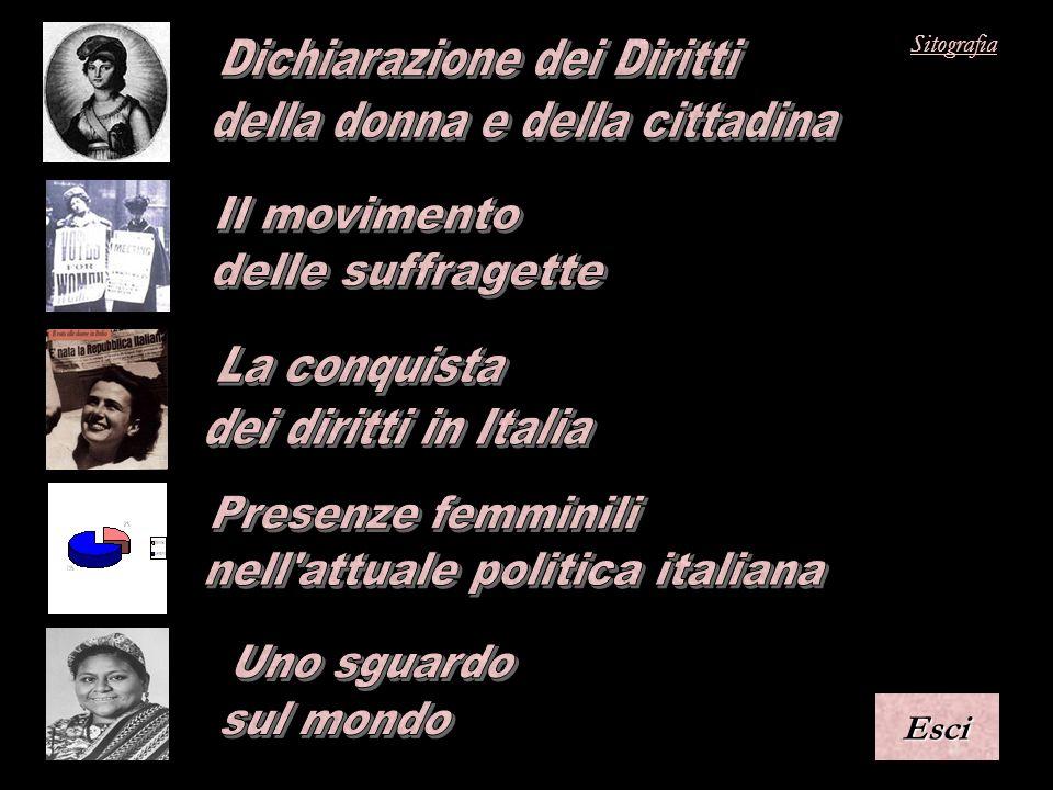 Dichiarazione dei Diritti della donna e della cittadina