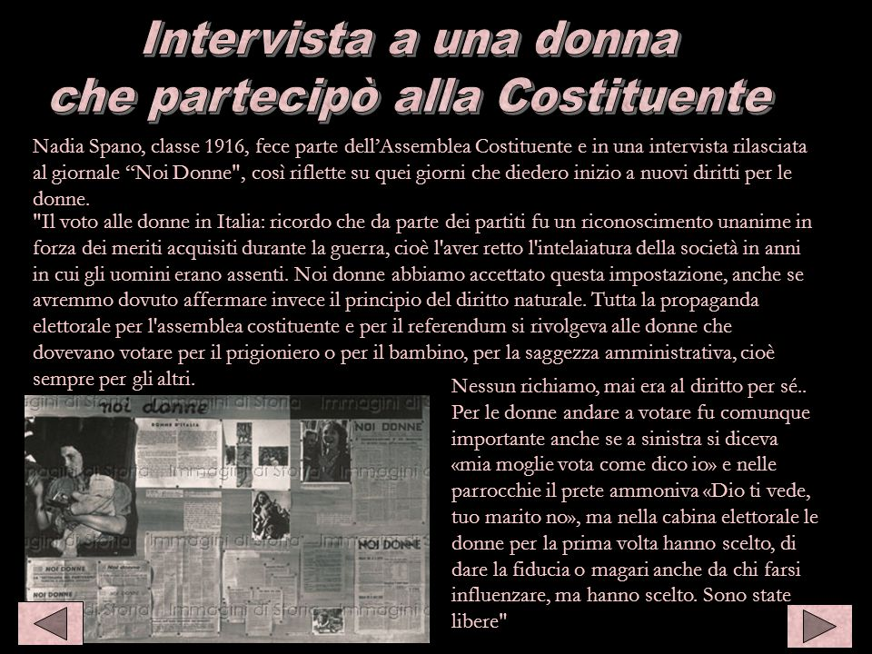 Intervista a Nadia Spano