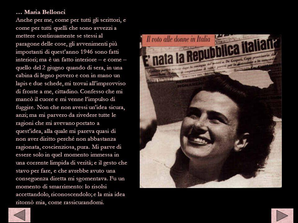 … Maria Bellonci