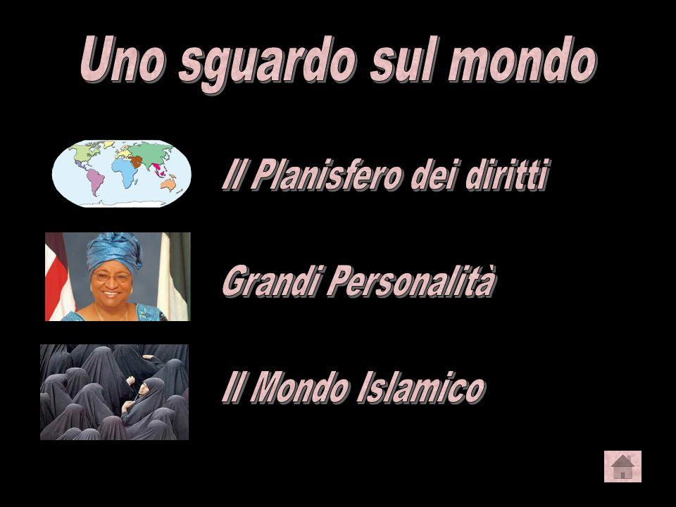Uno sguardo sul mondo Il Planisfero dei diritti Grandi Personalità