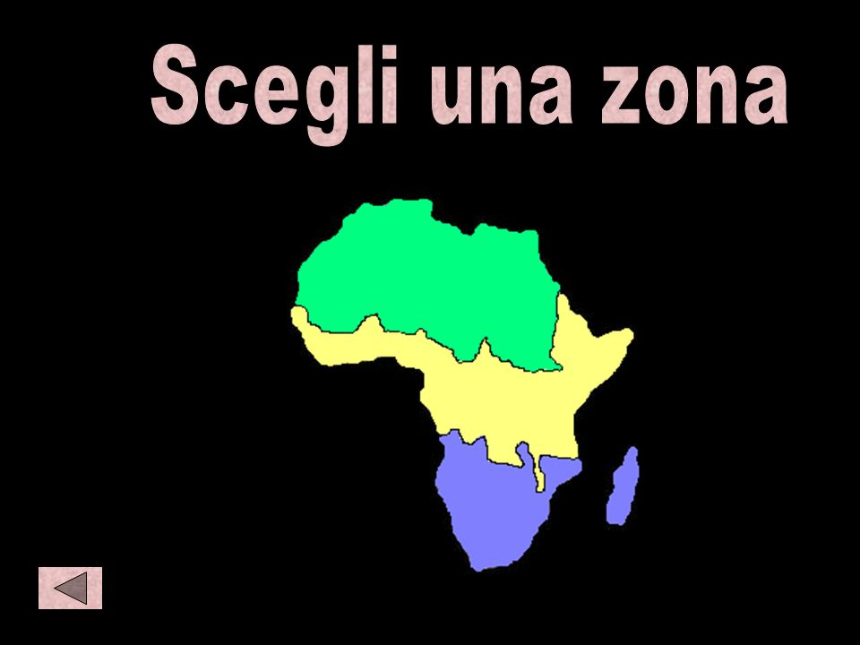 Africa Scegli una zona