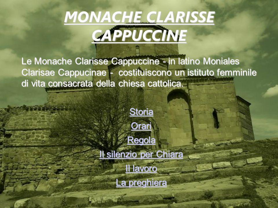 MONACHE CLARISSE CAPPUCCINE
