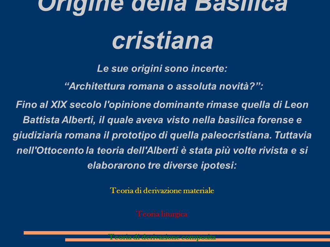 Origine della Basilica cristiana