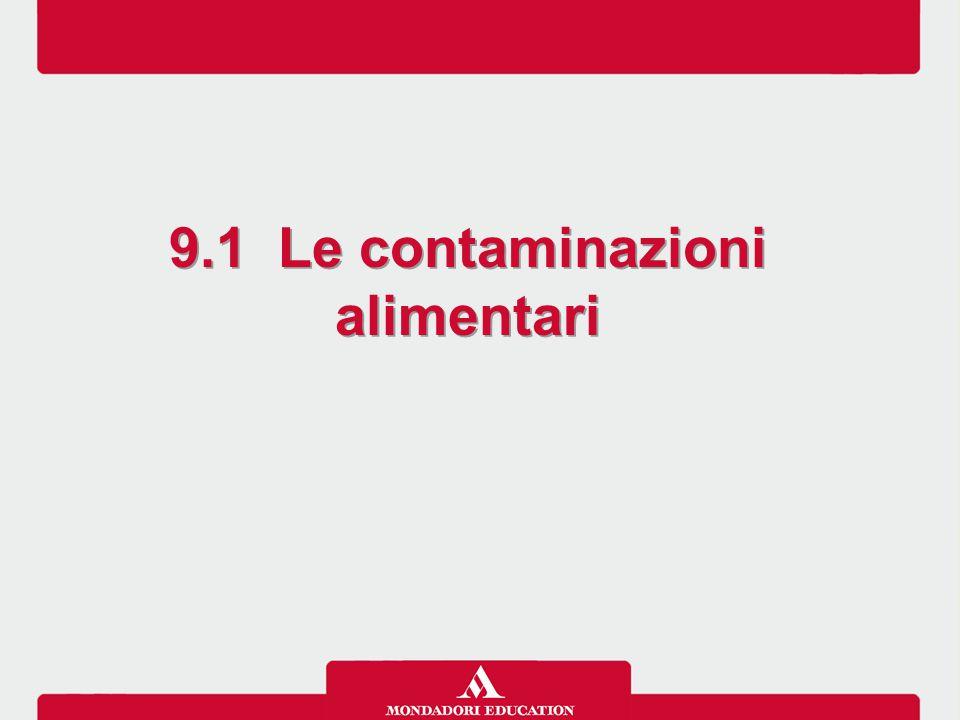 9.1 Le contaminazioni alimentari