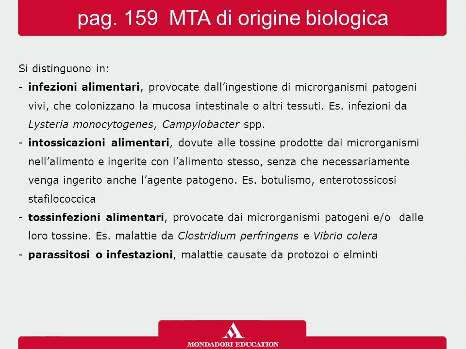 pag. 159 MTA di origine biologica
