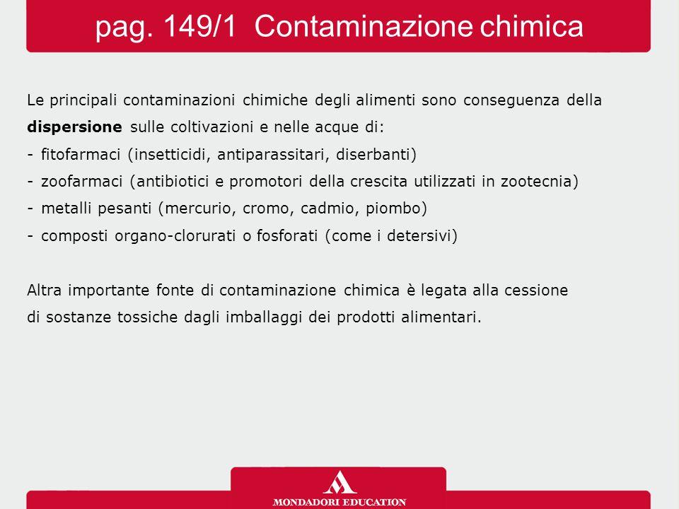 pag. 149/1 Contaminazione chimica