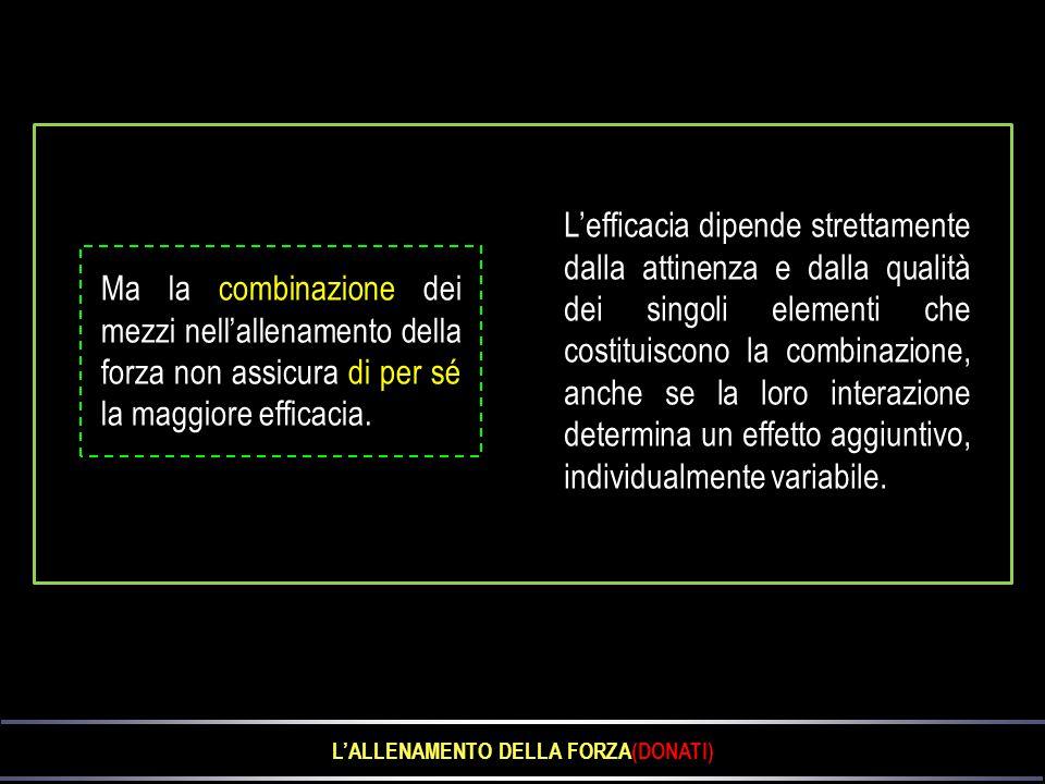 L'ALLENAMENTO DELLA FORZA(DONATI)