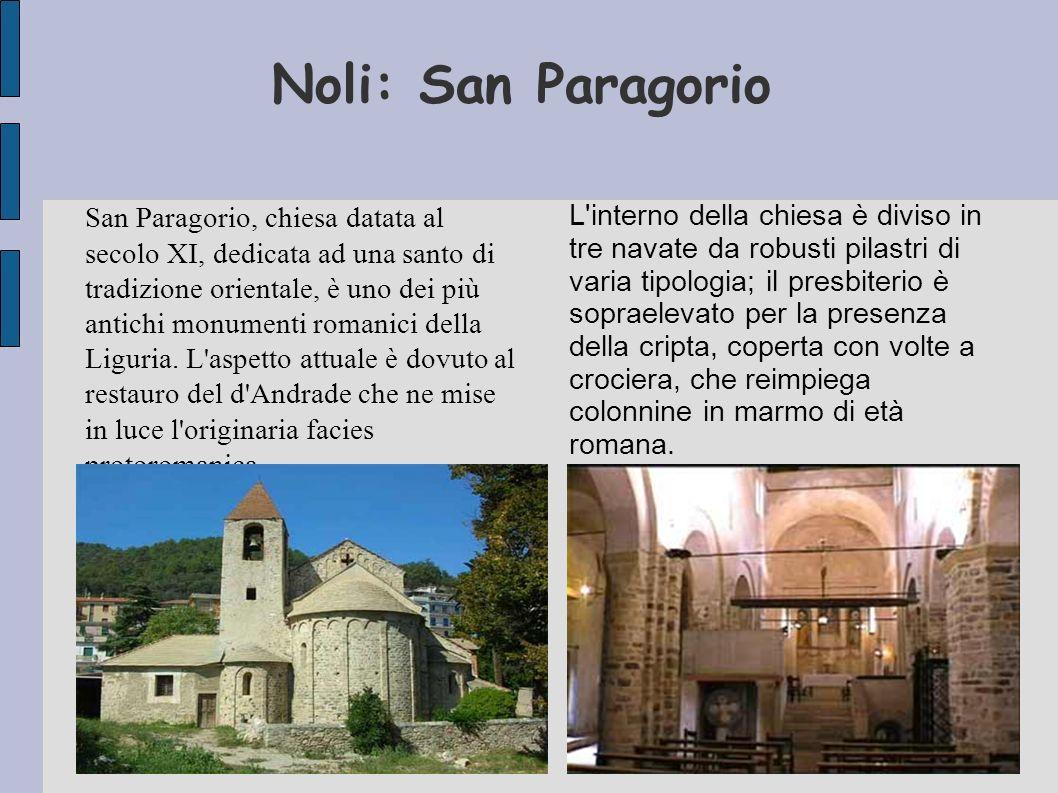 Noli: San Paragorio