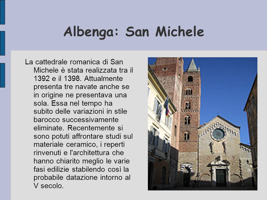 Albenga: San Michele